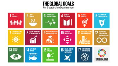 An illustration of the UN Global Goals. Photo/illustration: UN