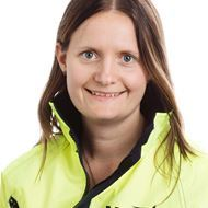Picture of Victoria Modin, project manager NCC Infrastructure.